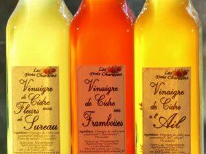 Vinaigres de cidre parfumés